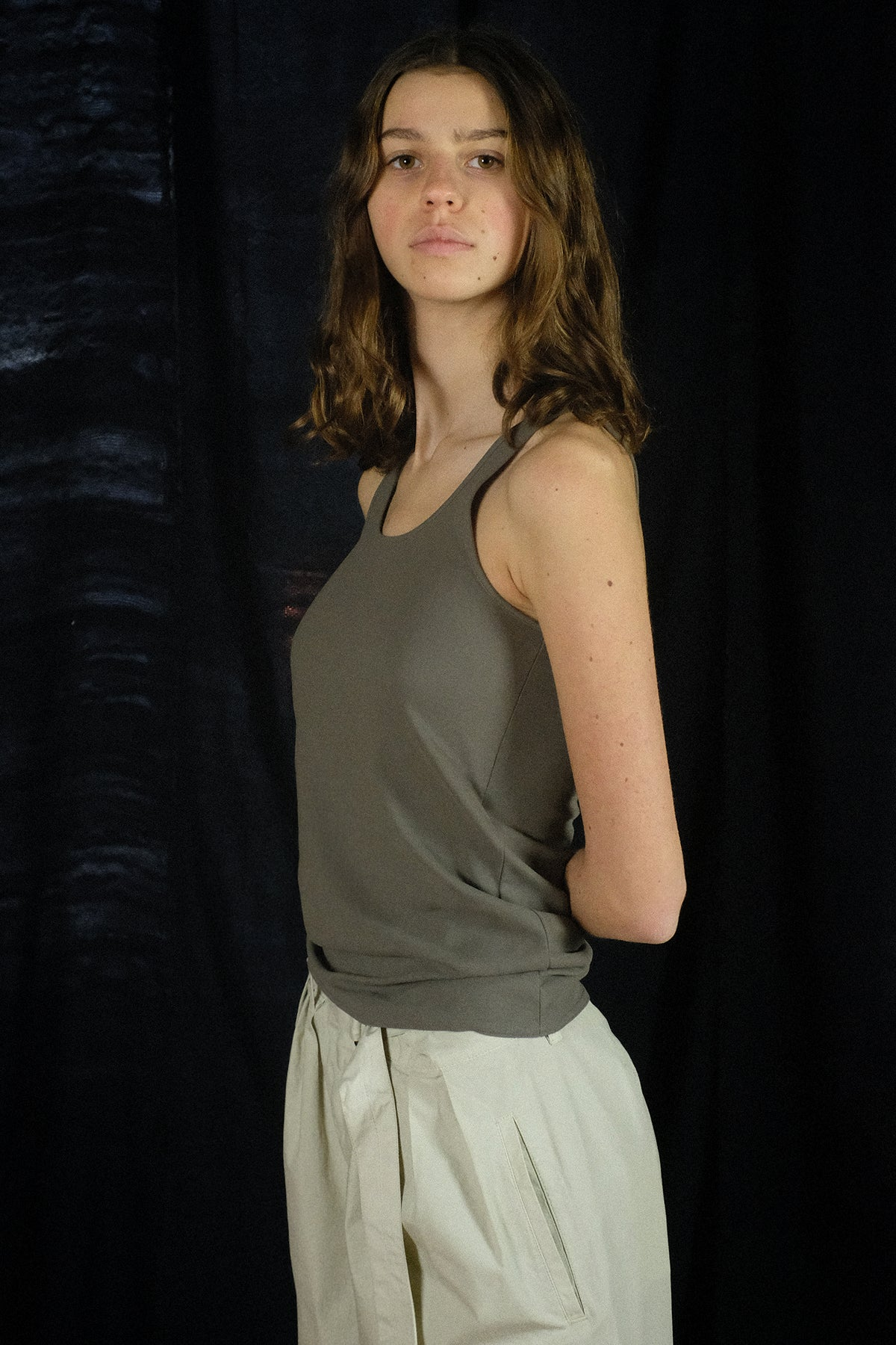 Lemaire — Jersey Tank Top / Granite Grey