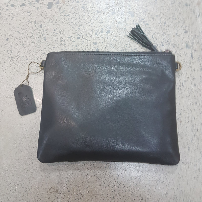 Toronto BC Hairon and Black leather Shoulder bag