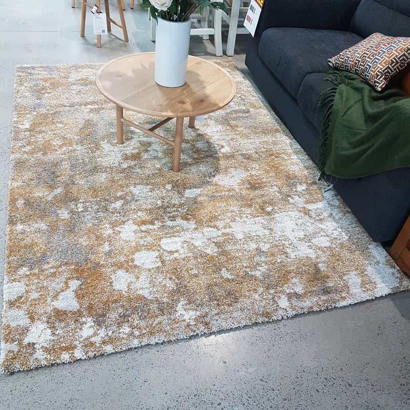 Roche Floor Rug Autumn Gold