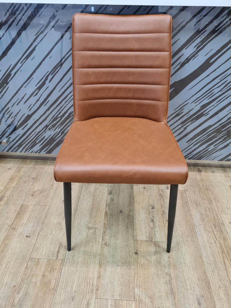 Hansel Dining Chair Cognac