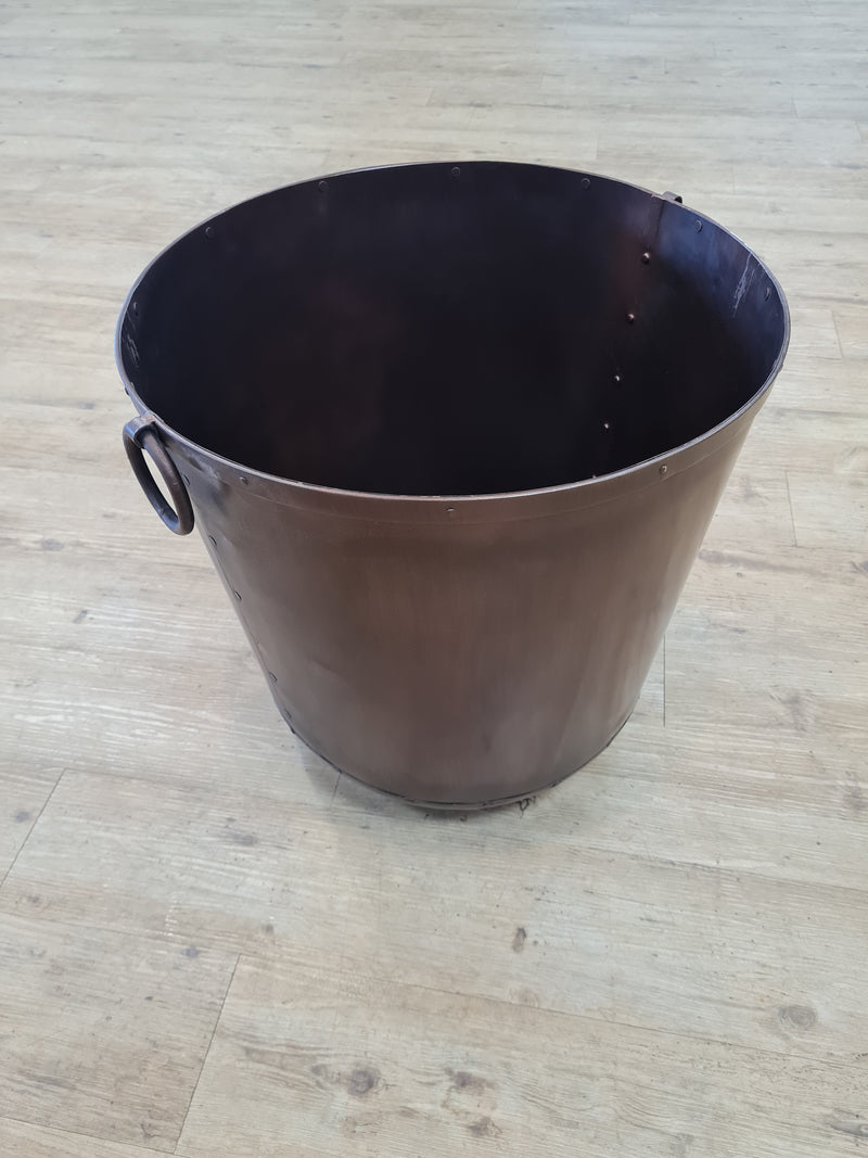 Copper Ring Planter Small