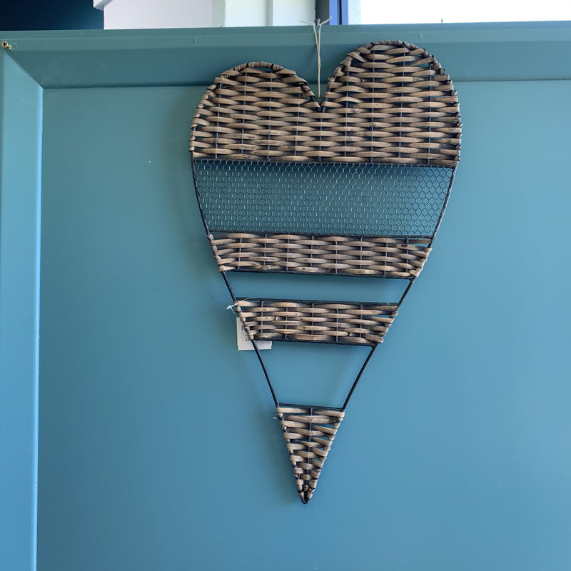 Modern Heart Wall Hanging
