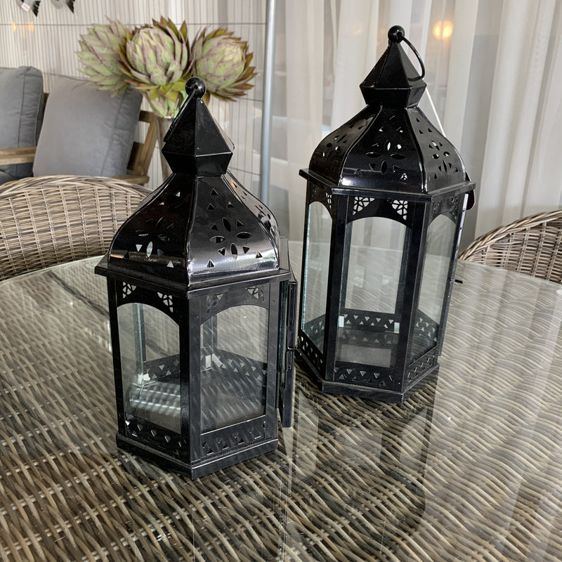 Marcona lanterns - medium and tall