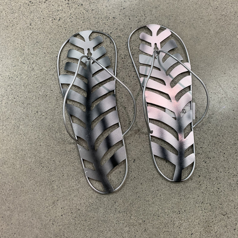 Jandal with Silver Fern Wall Art