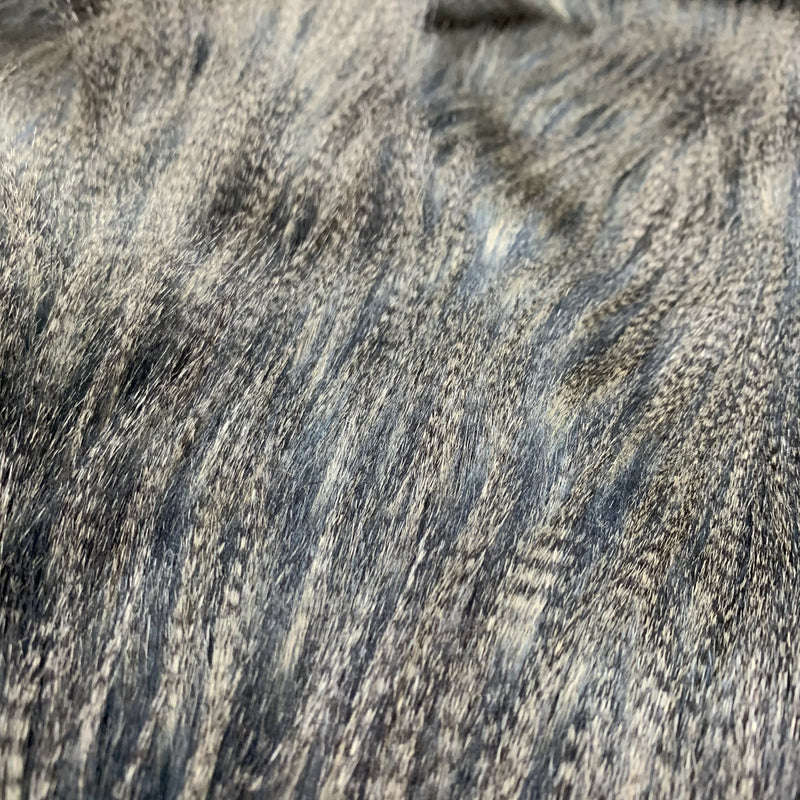 Heirloom Faux Fur throw - Dark Pheasant