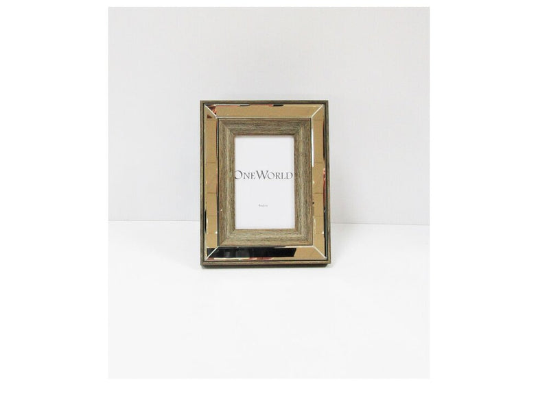 Timbered Mirrored Frame