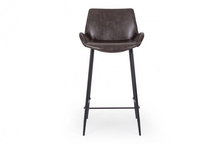 Vintage Barstool -Dark brown