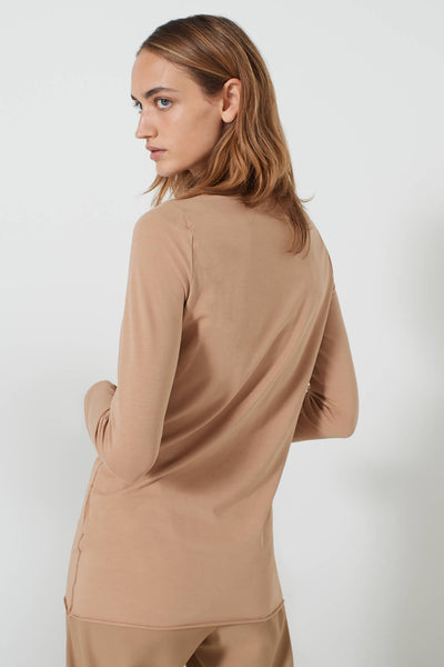 Marella Cripta Jersey Long Sleeved Top Back