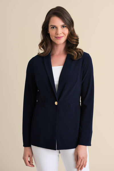 Joseph Ribkoff 211328 Midnight Blue Blazer Jacket