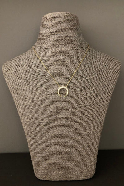 iCandi Rocks Crescent Moon Necklace