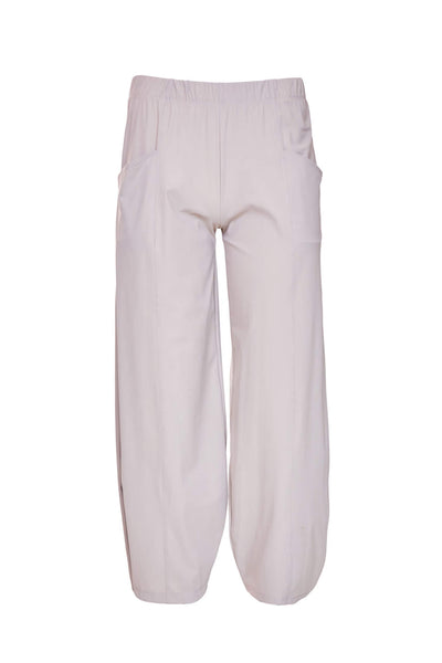 Naya NAS21116 Stone Trousers With Seam Detail