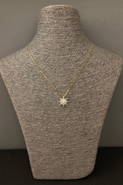 iCandi Rocks Rockstar Gold Plated Necklace
