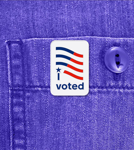CLASSIC 'I VOTED' – PIN