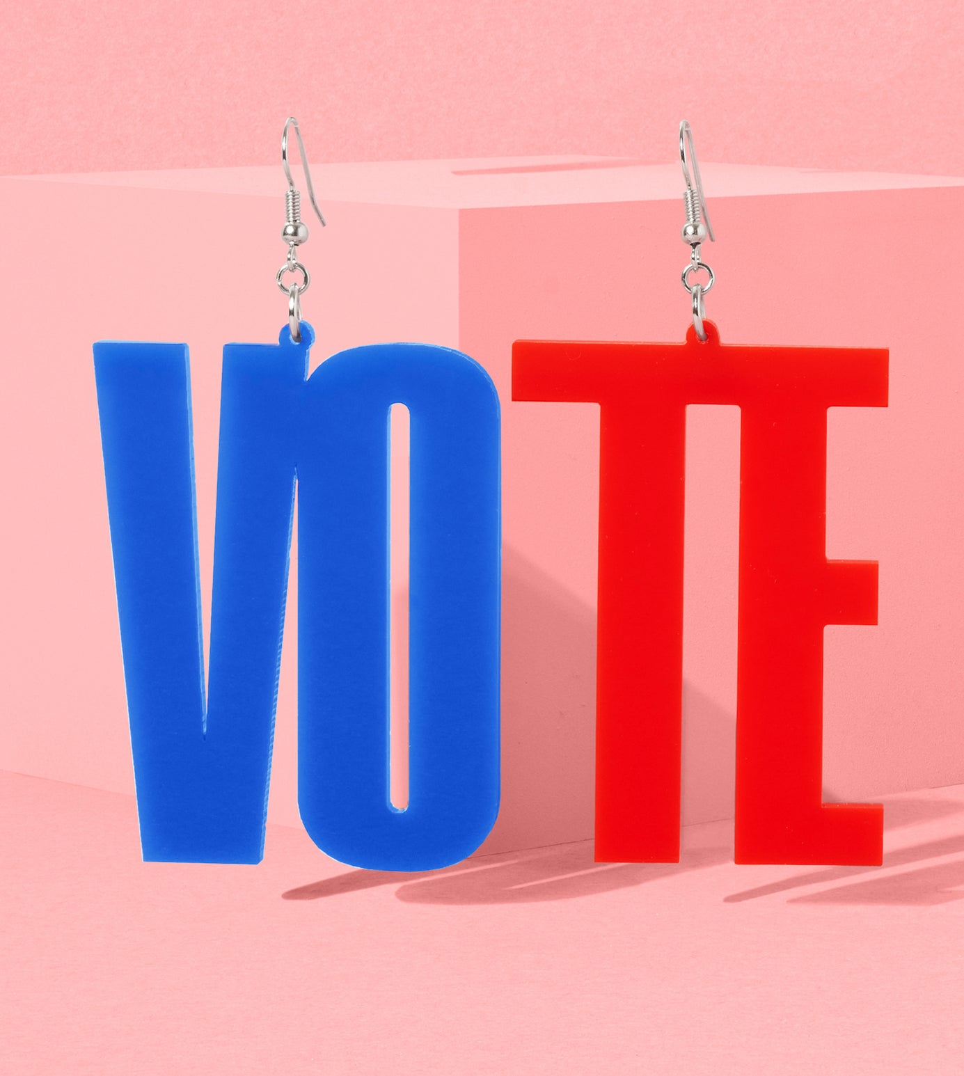 SPLIT THE VOTE – RED + BLUE