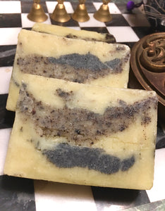 """Mr Natural"" Shea Cocoa butter Hemp based Sandalwood Patchouli Soap"