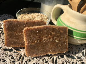 Lavender Honey Oatmeal Goat Milk Soap HP