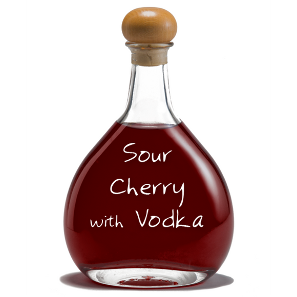 Sour Cherry with Vodka