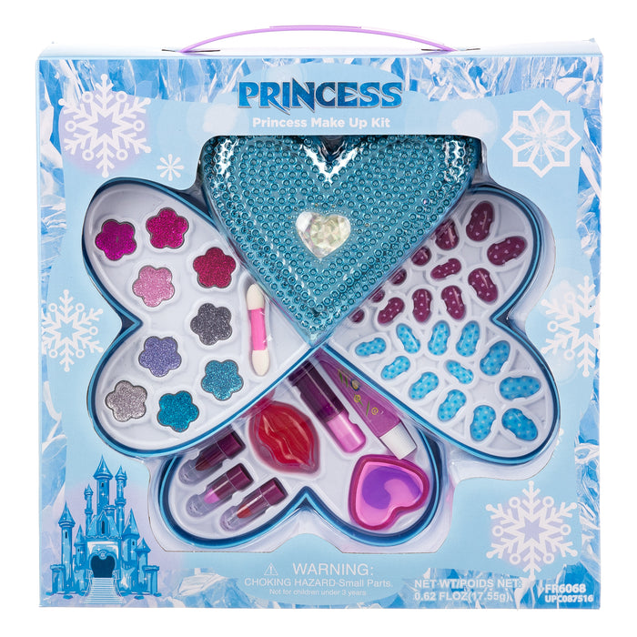 Ice Princess Expressions 3-Tiered Heart Makeup Kit