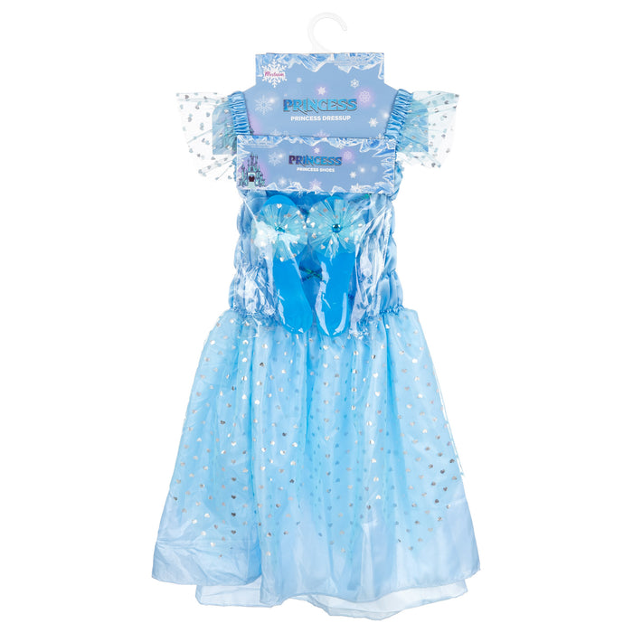 Ice Princess Expressions Dress & Shoes Set