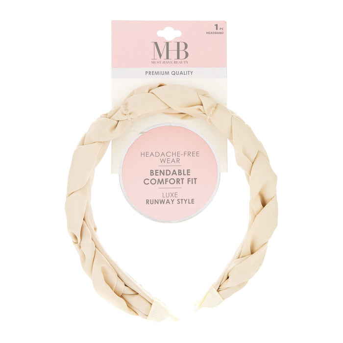 MHB Must-Have-Beauty Luxe Headbands - Braided Satin