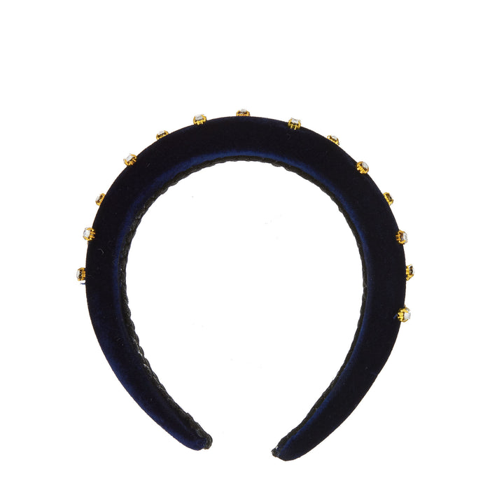 MHB Must-Have-Beauty Luxe Headbands - Royal Velvet Pearl