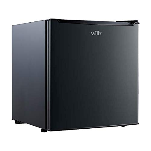 Willz WLR17BK Compact Single Door Fridge,