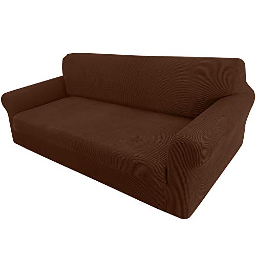 High Stretch Couch Cover 1-Piece Stylish Sofa Covers for 3 Cushion Couch - Home Furnishing Goods