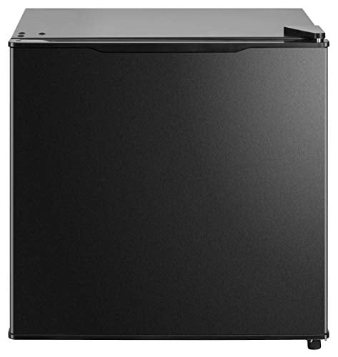 Midea MRM14A4ABB All refrigerator, 1.4 Cubic Feet, All Fridge Black