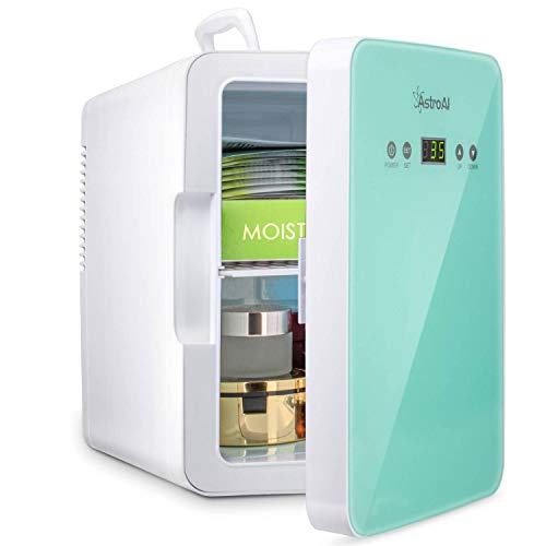 AstroAI Mini Fridge 6 Liter/8 Can Skincare Fridge for Bedroom