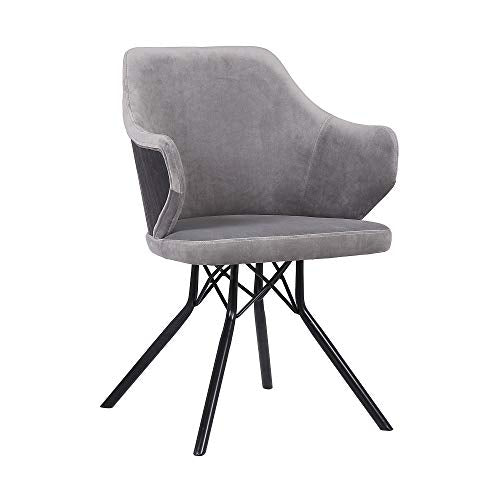 Darcie Contemporary Velvet Chair- 31.5 Inch - Home Furnishing Goods