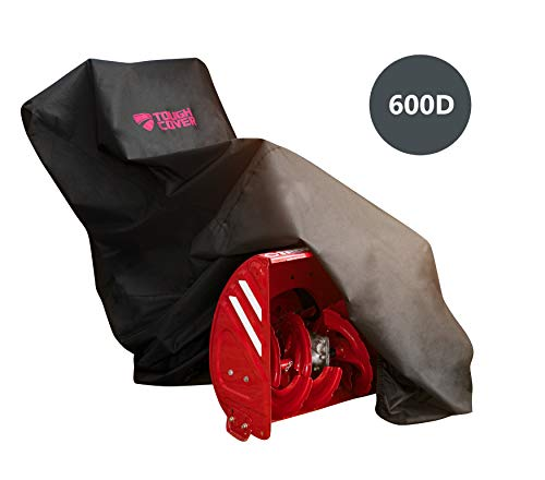 ToughCover Premium Two-Stage Snow Thrower Cover. Heavy Duty 600D