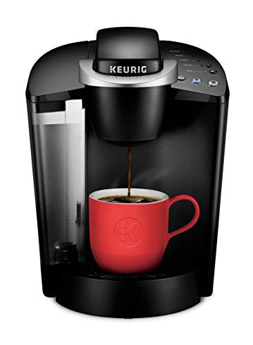 Keurig K-Classic Coffee Maker, Single Serve K-Cup Pod Coffee Brewer, 6 to 10 Oz. Brew Sizes, Black