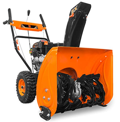 WEN 24-Inch 212cc Two-Stage Self-Propelled Gas-Powered Snow Blower, Electric Start