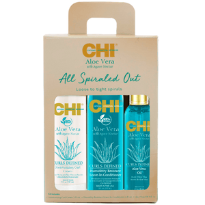 CHI ALOE VERA KIT ALL SPIRALED OUT