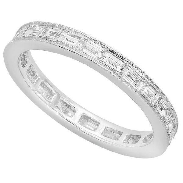 Baguette Diamond Eternity Band | Beverley K