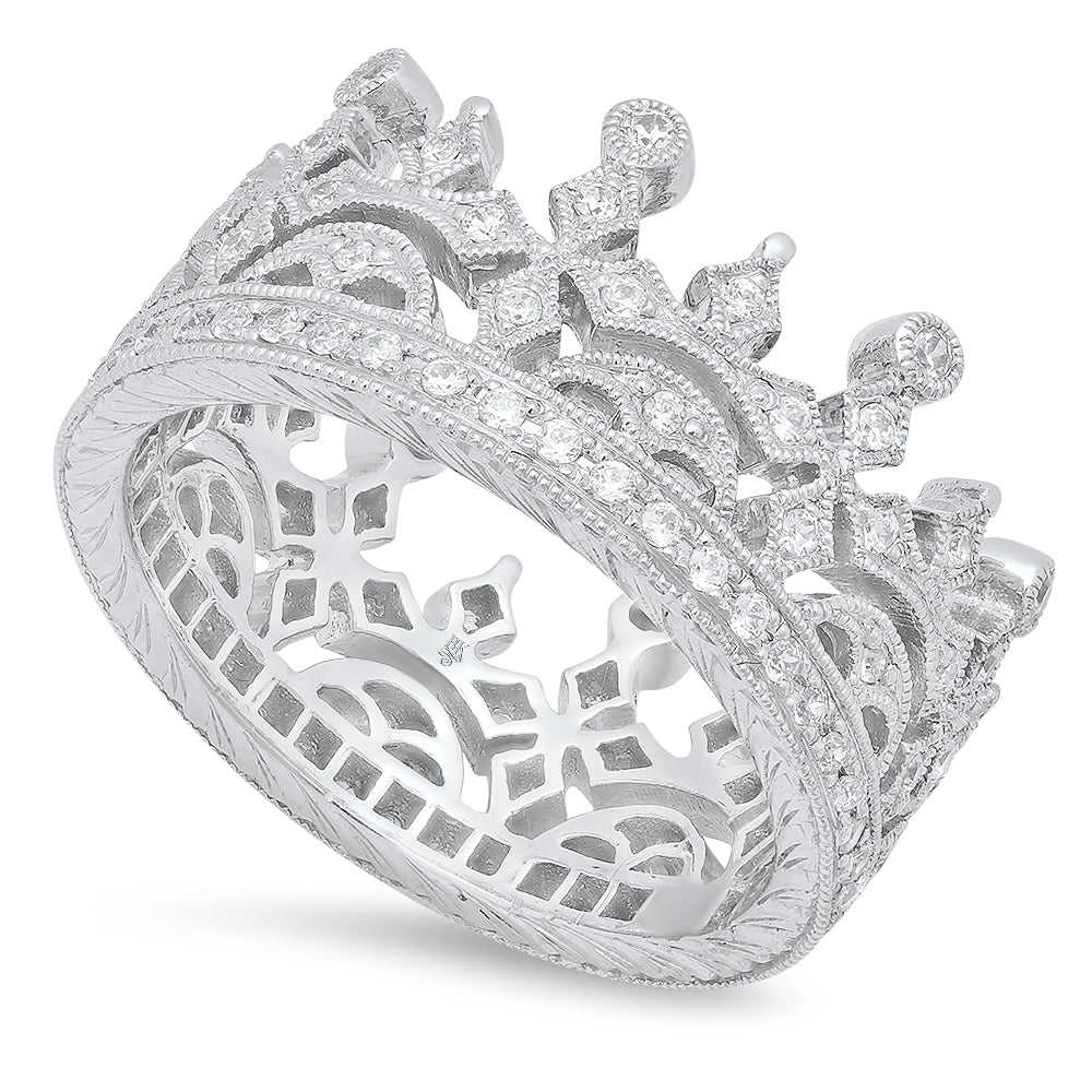 Diamond Crown Ring | Beverley K