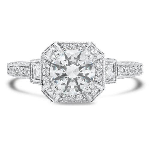 Diamond Engagement Ring Setting | Beverley K