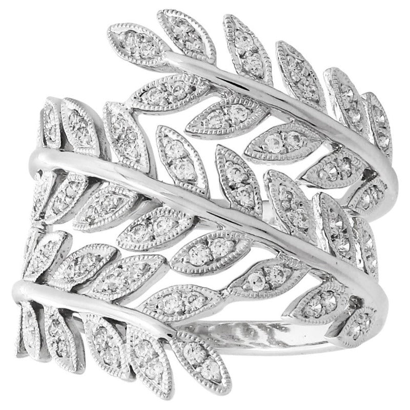 Diamond Vine Wrap Ring | Beverley K