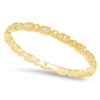 Rectangle and Diamond Shape Thin Eternity Band | Beverley K