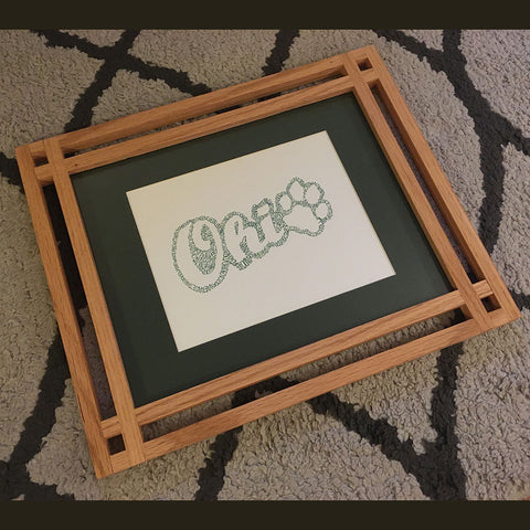 Picture Frame on a carpet