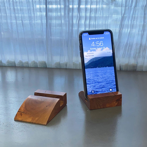 Phone Stand - Cherry - Smooth