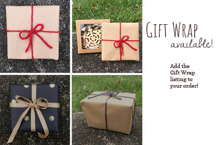 Gift wrap options for fallen tree woodshop.