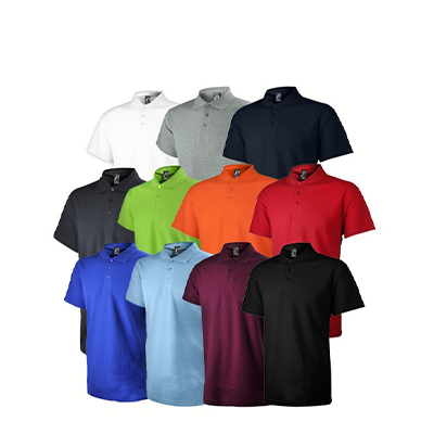 100% Cotton French Design Polo Shirt (Unisex)