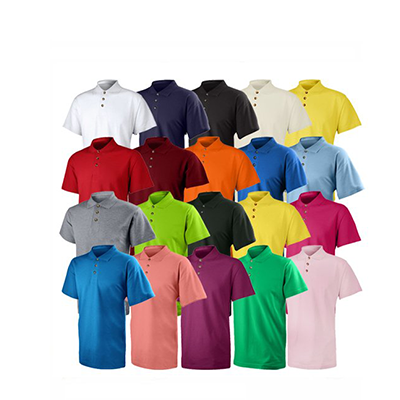 Honeycomb Solid Color Polo Tee