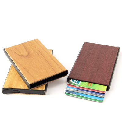 Wooden RFID Card Holder