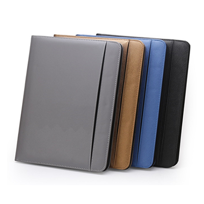 A4 PU Leather Folder with Multi Compartment