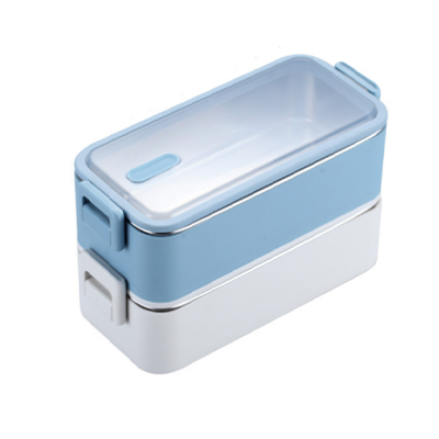 2 Tier 304 Stainless Steel Lunch Box