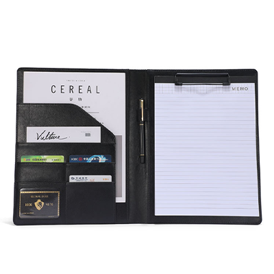 A4 PU Folder with Notepad