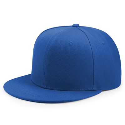 Baseball Cap with Plastic Snap
