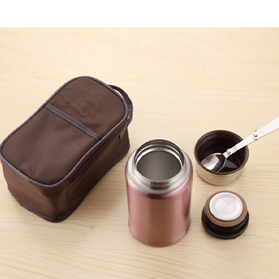 316 Stainless Steel Thermal Jar with Carrier